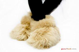 Babuchas alpaca SURI peruart (1)