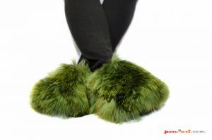 Pantuflas alpaca SURI peruart 03